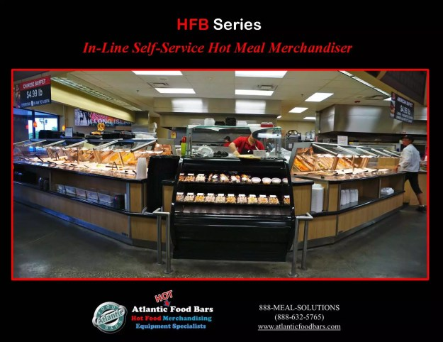 Atlantic food bars chinese hot buffet station the for Hot food bar 3 divisions