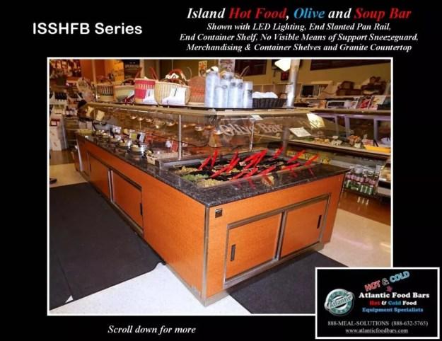 Atlantic Food Bars - Island Hot Food, Soup and Olive Bar - ISSHFB-ECS-GC-LB-LED-RSD2-SPR-VH 1