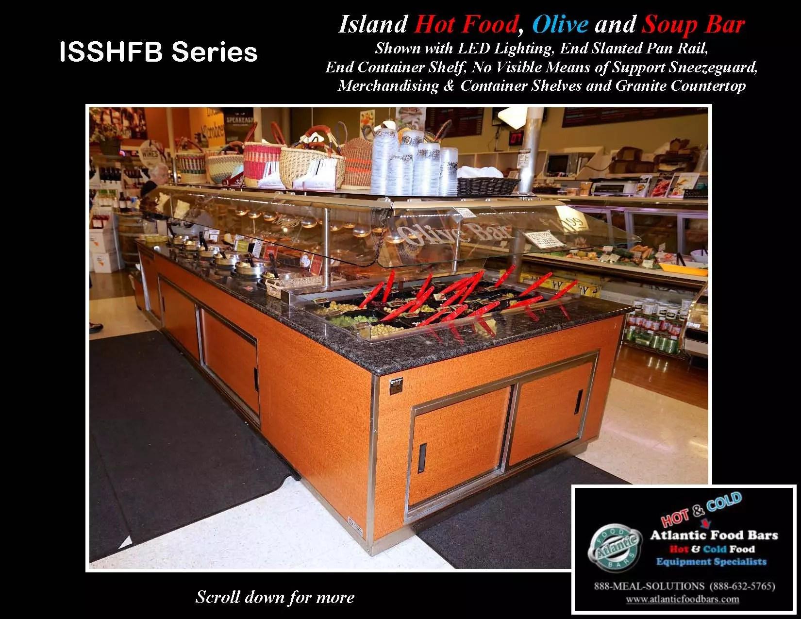 Atlantic food bars hot cold island featuring soup bar for Food bar 2015