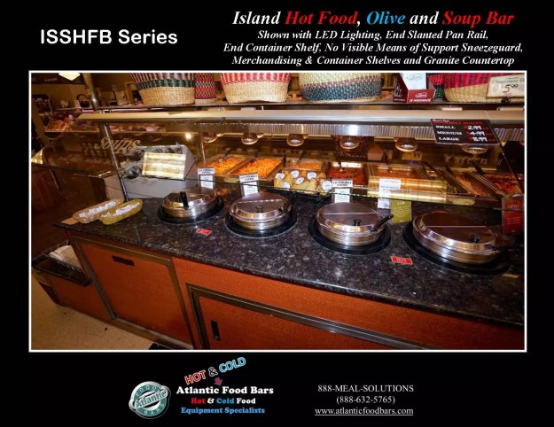 Atlantic Food Bars - Island Hot Food, Soup and Olive Bar - ISSHFB-ECS-GC-LB-LED-RSD2-SPR-VH 5