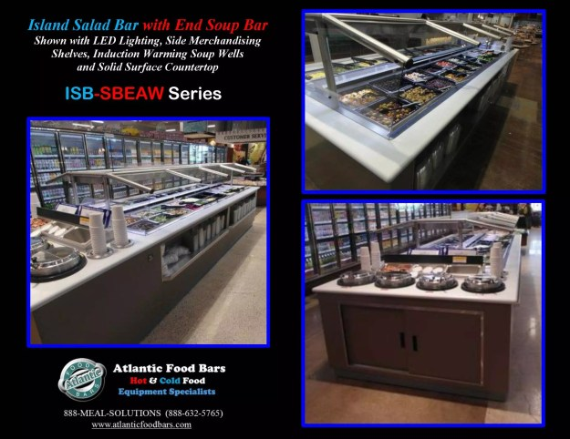 Atlantic Food Bars - Island Salad and Soup Bar - ISB-SBEAW 3