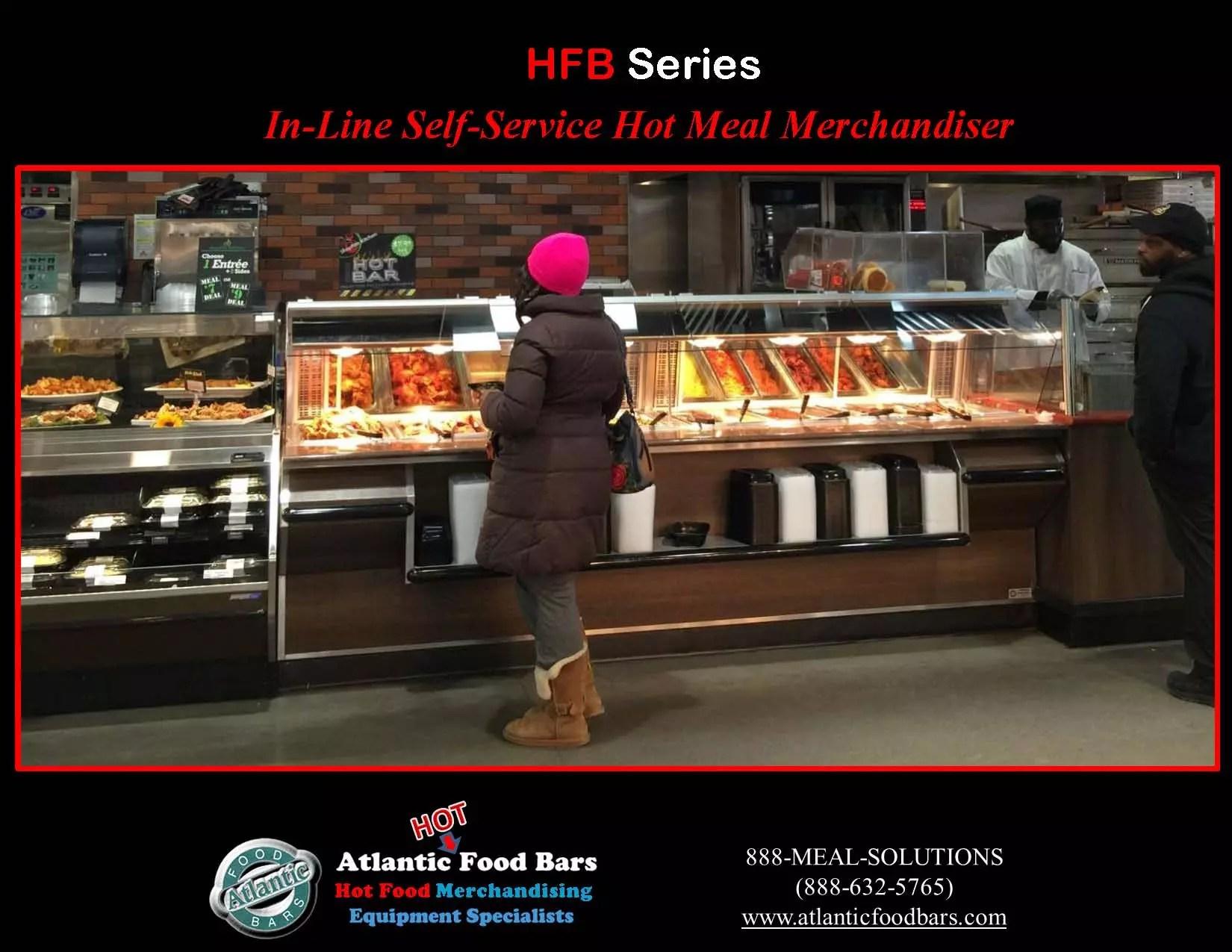 Atlantic food bars self service hot food bar the for Hot food bar 3 divisions