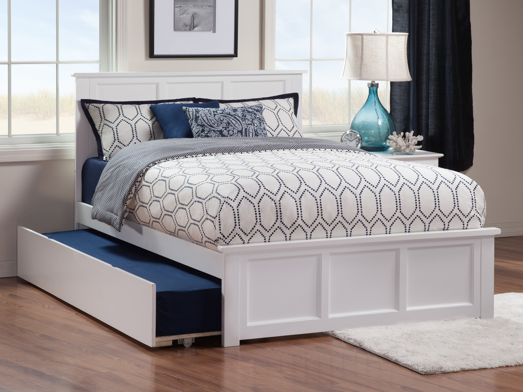 Madison Matching Footboard Trundle Bed Atlantic Furniture