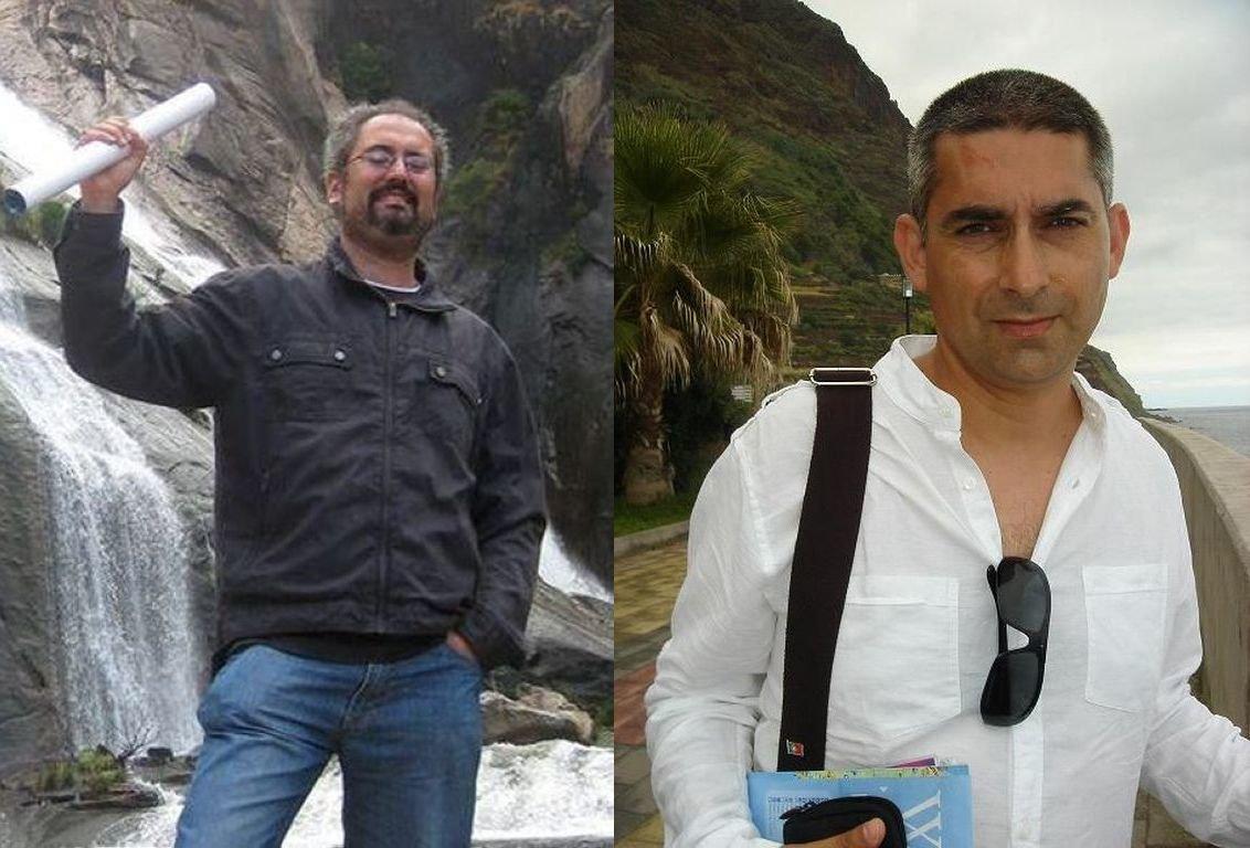 Xaquín Pastoriza y Óscar Lomba, precandidatos
