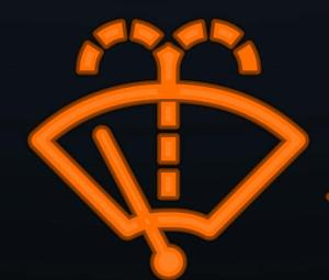 15. Washer Fluid Indicator Symbol It means the washer fluid is low.