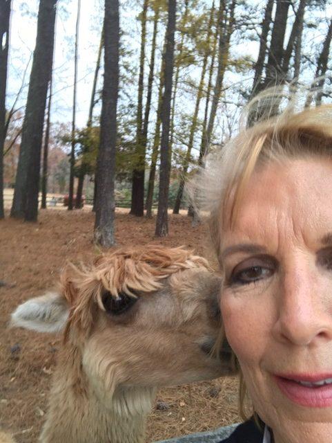 Nancy with For Garden's Sake Animals