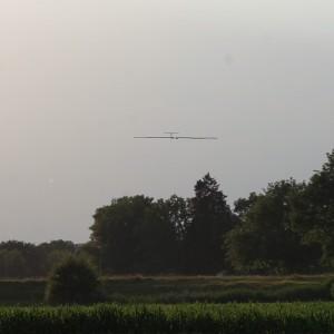 T=26h: Final approach during the autonomous landing.