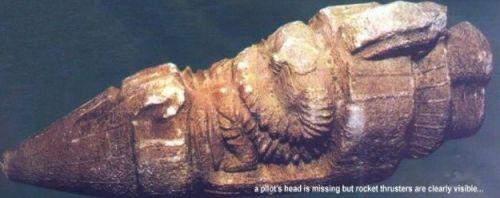 Kapal Roket berusia 3.000 tahun: Penggambaran Dewa dari Langit ?