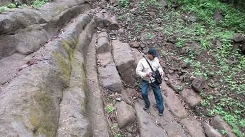 Longsoran bukit ditemukan mirip piramida gunung …