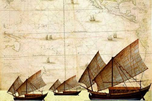 Kapal Besar Nusantara, Jauh Sebelum Cheng Ho dan …