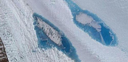 Danau-danau Cantik Bermunculan di Antartika, …