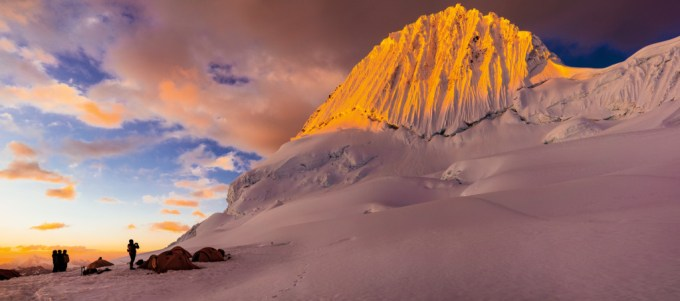 5 Alpamayo High Camp Sunset