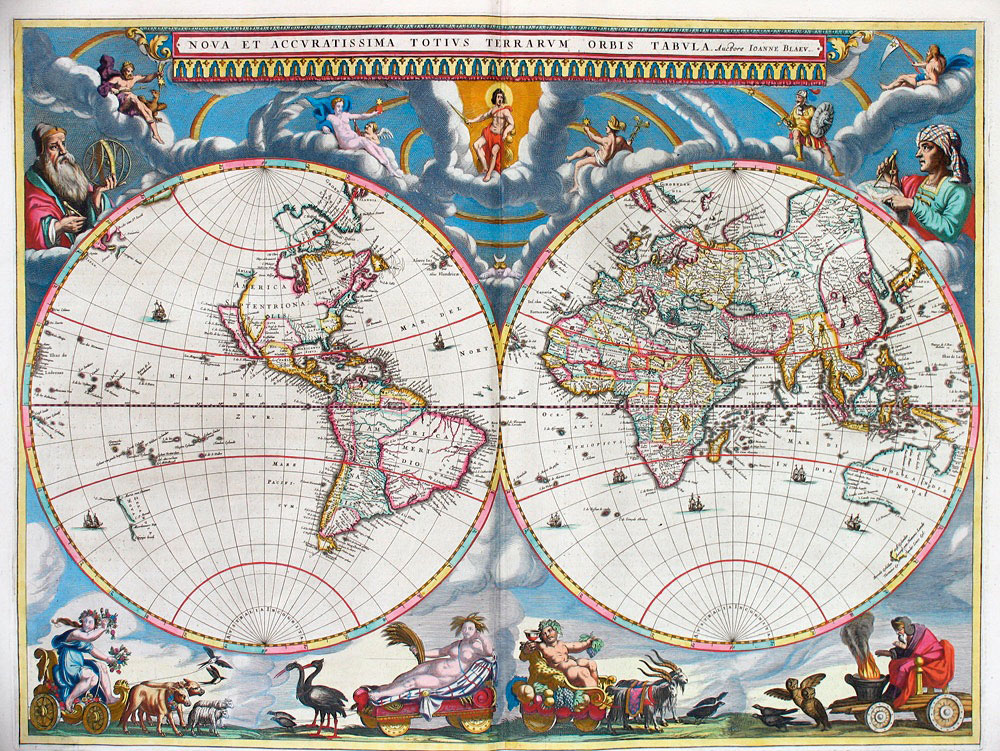 Map projections  why the same world looks different   Atlas   Boots maps changed world Bleau