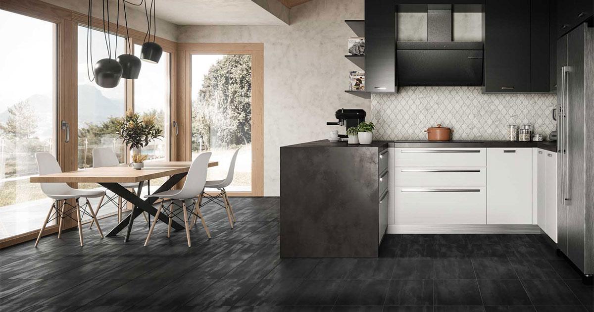 why choose porcelain tile for a kitchen