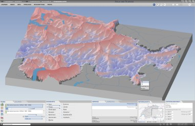 New 3D map type: Prism maps with smooth prism surface