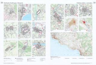 Urban settlements, examples