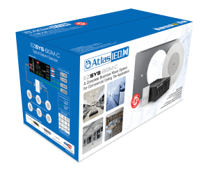 A Complete Business Music & Paging System for Ceiling Tile