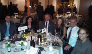 Atlas staff at annual Chamber of Commerce Celebration dinner