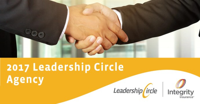 Integrity Insurance 2017 Leadership Circle Agency