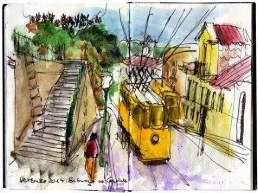 Sketching Elevador Gloria