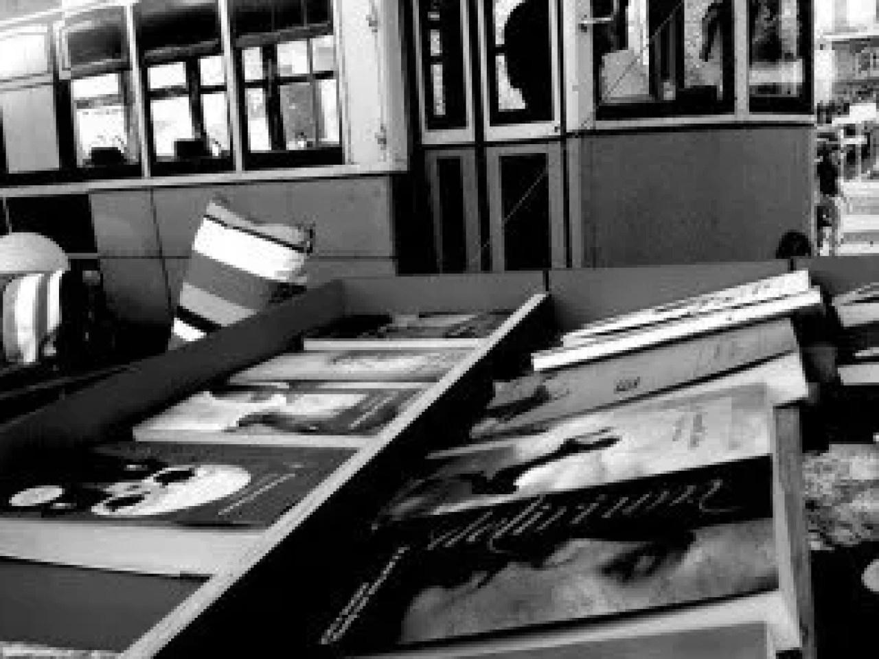 Annual book fair at Parque Eduardo VII in Lisbon