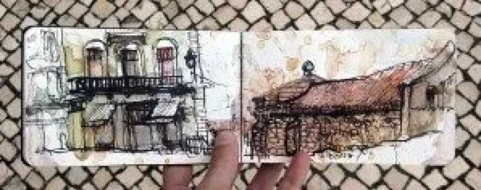 Lisbon Urban Sketchers the Book