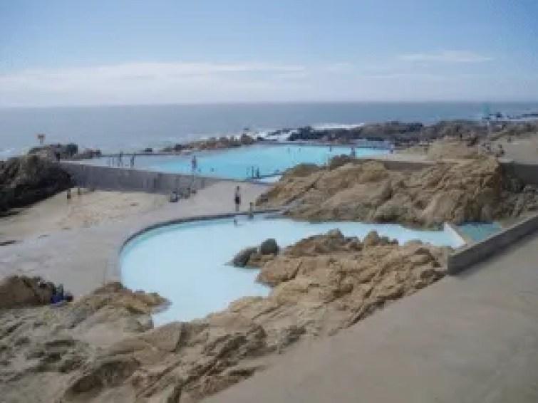 Leça Pools by Alvaro Siza