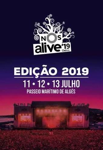 to Jul 13 | MUSIC FESTIVAL | NOS Alive 2019 | Alges | 65€ - 149€ @ Passeio Marítimo de Algés | Lisboa | Portugal