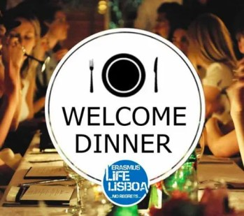 ERASMUS STUDENT DINNER | All you can drink dinner - American House Party Edition | Bairro Alto