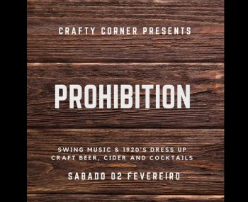PARTY | Prohibition: 1920s Swing Night | Cais do Sodré | FREE @ Crafty Corner | Lisboa | Lisboa | Portugal