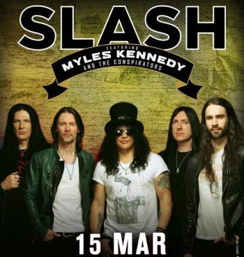 ROCK CONCERT | Slash | Campo Pequeno  | 22.52€ to 36.59€
