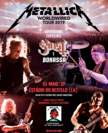 METAL CONCERT | Metallica | Restelo | 75-118€ @ Estadio do Restelo | Lisboa | Lisboa | Portugal