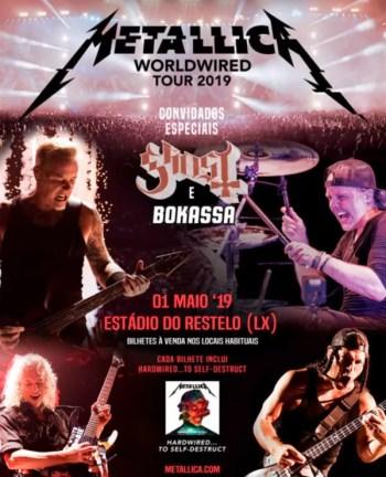 METAL CONCERT | Metallica | Restelo | 75-118€