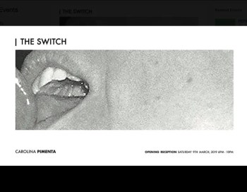 "to Mar 30 | ART EXHIBIT | ""Suck and Blow"" by Carolina Pimenta 