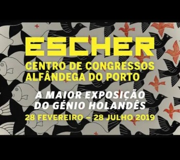 to Jul 29 | ART EXHIBIT | M.C. Escher in Porto | Porto | 4-13€ @ Centro de Congressos da Alfândega do Porto | Porto | Porto | Portugal