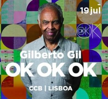 CONCERT | Gilberto Gil | Belém | 20-60€ @ Centro Cultural de Belém | Lisboa | Lisboa | Portugal