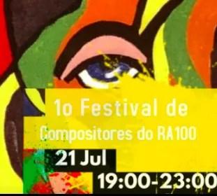LIVE MUSIC   Festival de Compositores #1   Arroios   TBD @ RA 100 Arroios   Lisboa   Lisboa   Portugal
