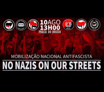 PROTEST | No Nazis on Our Streets | Rossio | FREE