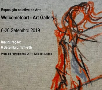 to Sept 20 | GROUP ART EXHIBIT | WelcometoArt | Principe Real | FREE @ Welcome to art, Praça do Príncipe Real 26 1º, 1250-184 Lisboa | Lisboa | Lisboa | Portugal