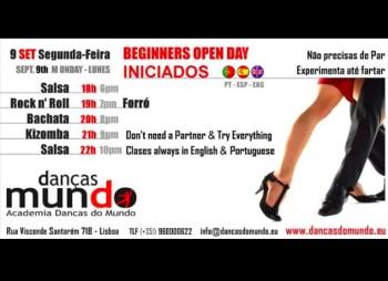 DANCE WORKSHOP | Beginner World Dance Open Classes | Saldanha | FREE @ Danças do Mundo | Lisboa | Lisboa | Portugal