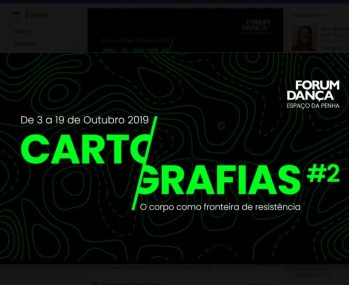 to Oct 19 | ART AND DANCE FESTIVAL | Cartografias#2: The Body as a Frontier of Resistance | Anjos | 3-7€