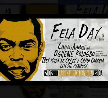 AFROBEAT PARTY | Fela Day 2019 | Braço de Prata | 10€ @ Fábrica Braço de Prata | Lisboa | Lisboa | Portugal