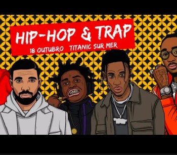 PARTY | Hip-Hop and Trap Night at Titanic | Cais do Sodré | 6-8€