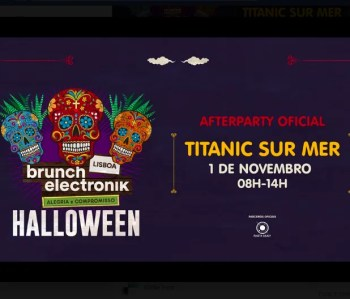 AFTERPARTY | Brunch Electronik Halloween Afterparty | Cais do Sodré | 5-12€