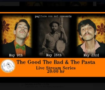 MUSIC FOR RENT | Live Stream Series: The Good, The Bad & The Pasta | ONLINE | FREE (donations welcome)