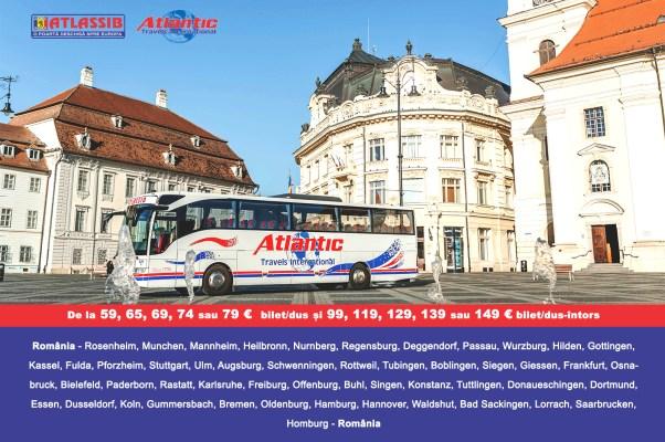 Transport persoane din Romania