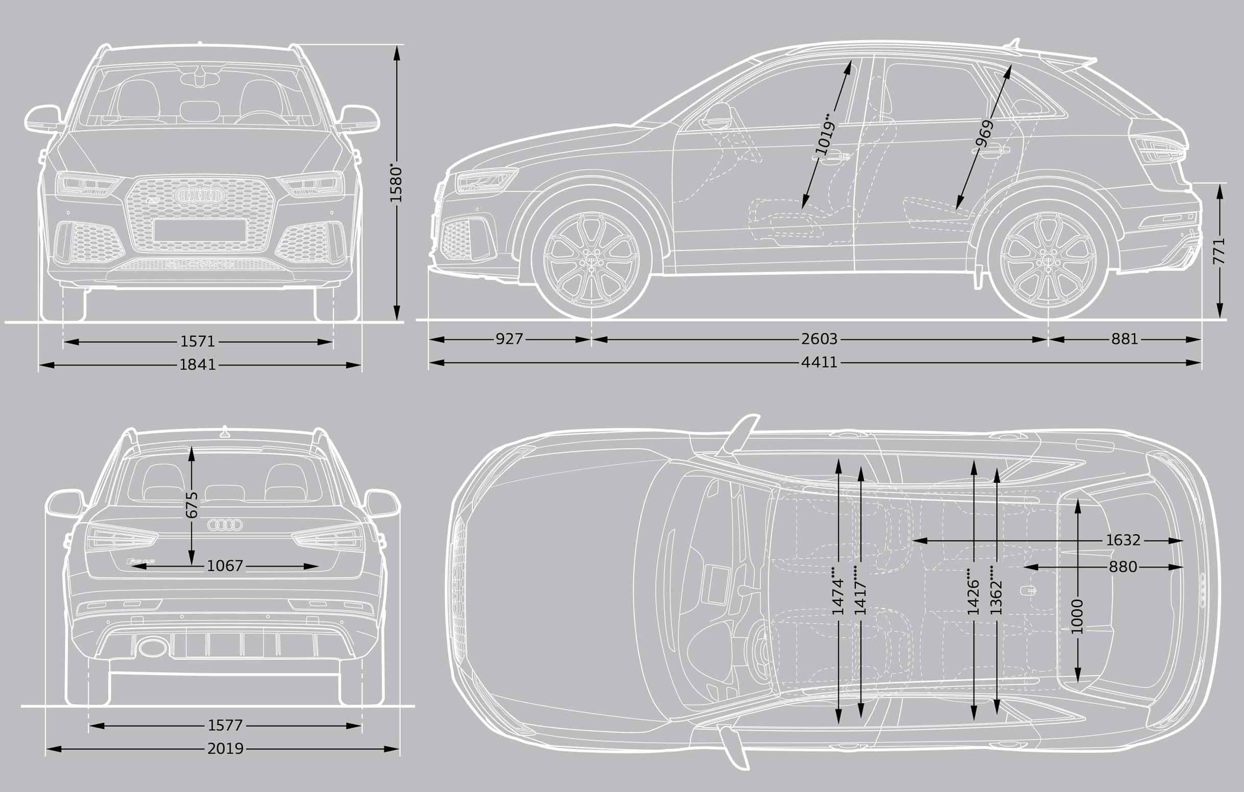 Q5 Dimensions Audi Q5 Interior Dimensions Audi Sq5 3 0