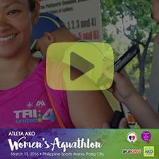 AtletaAko.com Presents: Women's Aquathlon 2016
