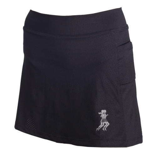 Ultra Skirt with Compression Shorts – Black