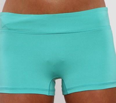 running shorts - caribbean-front